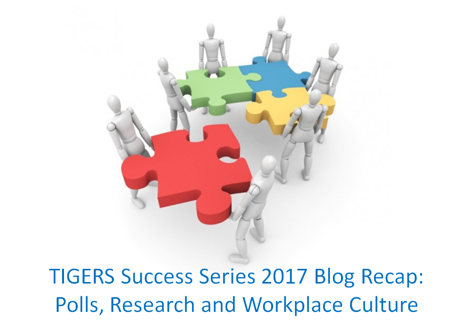 TIGERS® Success Series 2017 Team Building Blog Recap Part Three: Research, Polls and Workplace Culture